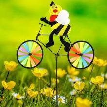 정원용바람개비 자전거타는꿀벌 어린이집꾸미기 캠핑바람개비 정원장식