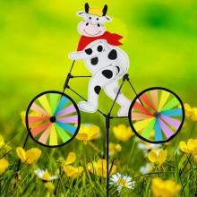 정원용바람개비 자전거타는젖소 어린이집꾸미기 캠핑바람개비 정원장식