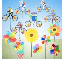 정원용바람개비 어린이집꾸미기 캠핑바람개비 공원 정원장식