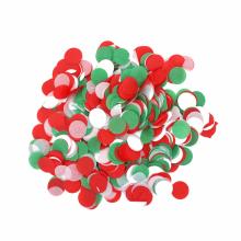 컨페티 원형 (크리스마스) 풍선 벌룬 종이 꽃 가루