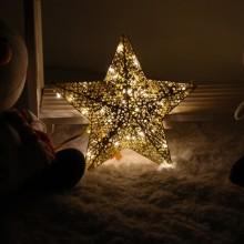 니켈별30센티 전구포함 크리스마스조명 소품 별장식