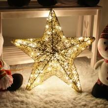 니켈별60센티 전구포함 크리스마스조명 소품 별장식