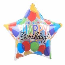 아나그램 라지쉐잎 생일벌룬배쉬 생일풍선 해피버스데이