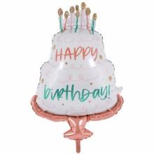 아나그램 라지쉐잎 해피케이크데이 생일파티풍선 해피벌스데이