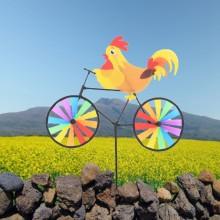 정원용바람개비 자전거타는 닭 어린이집꾸미기 캠핑바람개비 정원장식