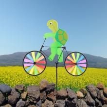 정원용바람개비 자전거타는 거북이 어린이집꾸미기 캠핑바람개비 정원장식