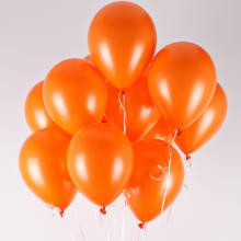 헬륨풍선(오렌지)[퀵배송]