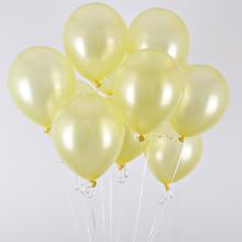 헬륨풍선(펄라이트옐로우)[퀵배송]