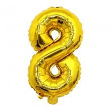 숫자호일8(골드/대, 중, 소)