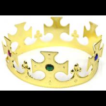 십자왕관(골드) 생일파티왕관 학예회 왕자모자 파티용품 무대소품