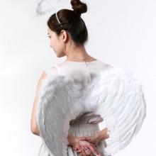 천사날개(중)흰색 요정날개 할로윈 크리스마스 엔젤