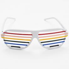 셔터쉐이드안경(컬러혼합) 코믹 클럽 패션 바캉스 해변 안경