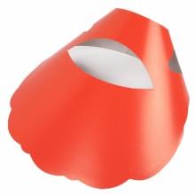 종이모자 레드 무지(50개입) 종이썬캡 일회용모자 응원도구 썬캡 야구장단체모자