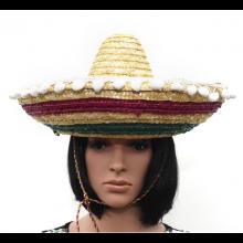 멕시칸모자 ★ 짚모자 멕시코인 분장 무대 파티소품 모자