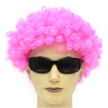삐에로가발(핑크)소 소형 파티 연극 무도회 퍼머 그것 피에로