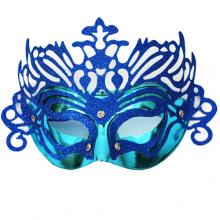 여우반가면(블루) 파티가면 할로윈데이 오페라 무대소품