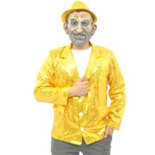 반짝이자켓 골드 무대의상 축제 행사 스팽글자켓
