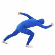 쫄쫄이의상반바지세트(블루) 전신타이즈 쫄쫄이옷