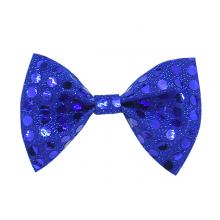 나비넥타이(소)블루 반짝이 웨이터 넥타이 파티의상소품