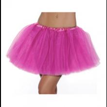 망사투투스커트대여 핑크