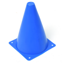 칼라콘표지판(블루) 라바콘 체육대회표지판 릴레이경주 고깔콘
