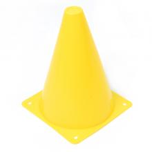 칼라콘표지판(노랑) 라바콘 체육대회표지판 릴레이경주 고깔콘