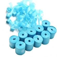 종이릴테잎(파랑) 7.5미터 10개입 에어샷용 칼라 종이 릴테잎