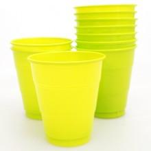 PVC컵(소)라임그린