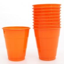 PVC컵(소)오렌지