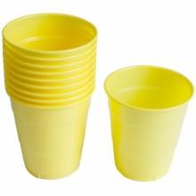 PVC컵(소)옐로우