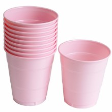 PVC컵(소)핑크