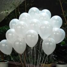 헬륨풍선(펄화이트)[퀵배송]