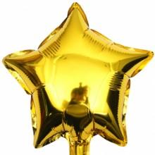 9인치별(골드)자동 풍선장식 은박호일풍선 별모양
