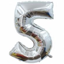 숫자호일5(실버/대, 중, 소)