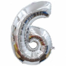 숫자호일6(실버/대, 중, 소)
