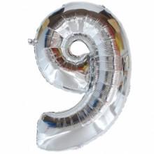 숫자호일9(실버/대, 중,  소)