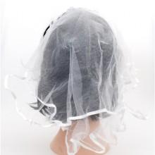 면사포머리띠(화이트) ★ 웨딩 결혼 면사포 프로포즈 이벤트 머리띠