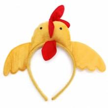 꼬꼬머리띠 역할놀이 닭머리 닭날개 파티머리띠