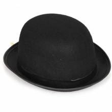 채플린모자(저가) ★ 검은색 중절모 연극무대 할로윈데이 파티 의상소품 모자