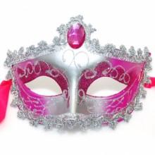 레이스반가면(실버/핑크) 파티가면 할로윈데이 오페라 무대소품