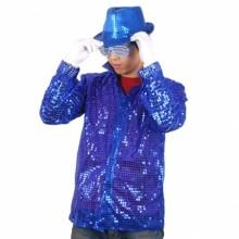 반짝이셔츠성인(블루)